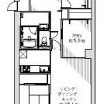 LDK18.6帖(間取)